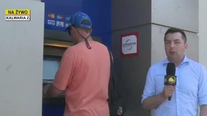 Bankomaty w Kalwarii nie wydawały reszty