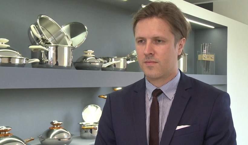 Tomasz Lis, rzecznik prasowy firmy Philipiak Milano