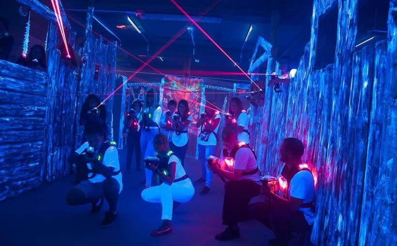 Paintball laserowy w podziemiach średniowiecznej warowni. Hit sezonu 2015!