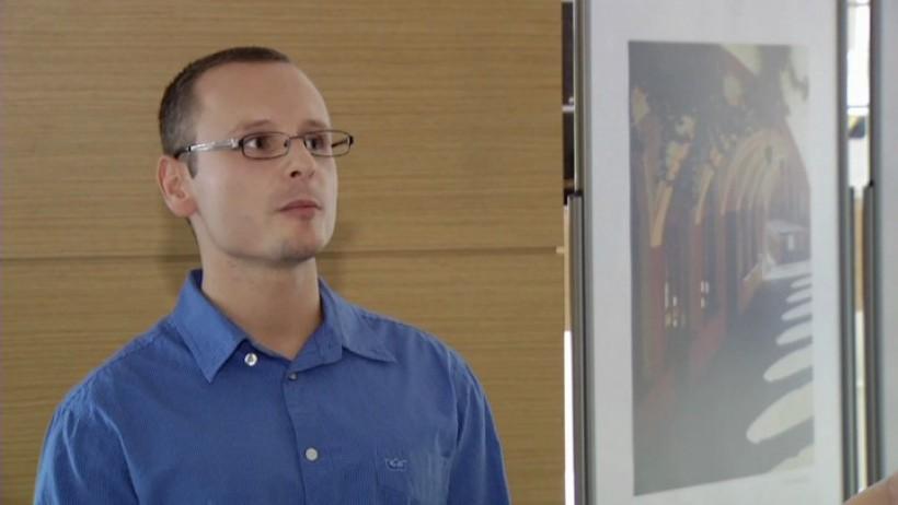 Tomasz Borkowski, doradca w Biurze Karier Wyższej Szkoły Bankowej w Opolu