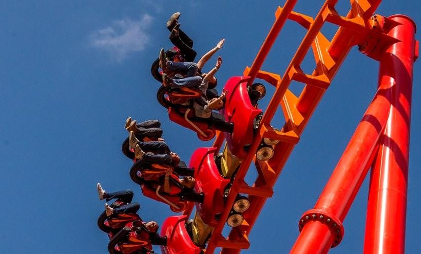 Rollercoaster Mayan w Zatorze