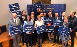 28 milionów złotych z rządowego programu na wadowickie drogi. Skorzysta dziewięć gmin i powiat