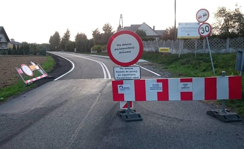 Droga powiatowa 1768K pomiędzy Witanowicami, a Wyźrałem oficjalnie otwarta