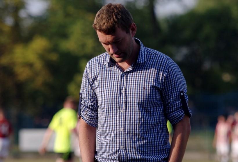 Szymon Burliga żegna się z posadą trenera Beskidu