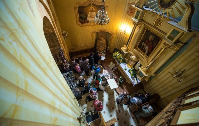 Kaplica świętego Jana Pawła II w bazylice w Wadowicach