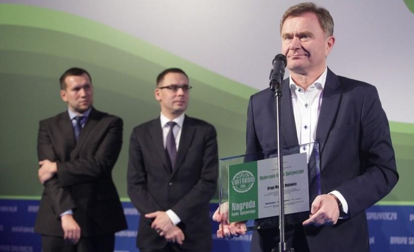 Nagrodę w imieniu wadowickiej spółki odebrał prezes Krzysztof Pawiński