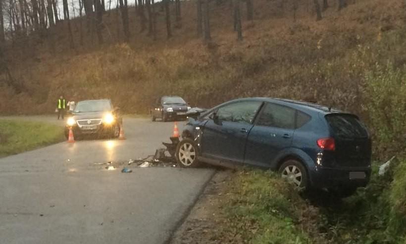 Przerażający wypadek na drodze do Woźnik. Nie żyje 8-letnia dziewczynka