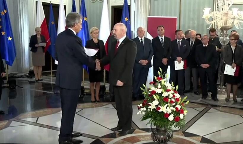 Poseł Marek Polak w Sejmie