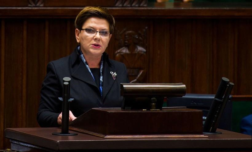 Premier Beata Szydło przedstawiła Sejmowi plan działań swojego rządu