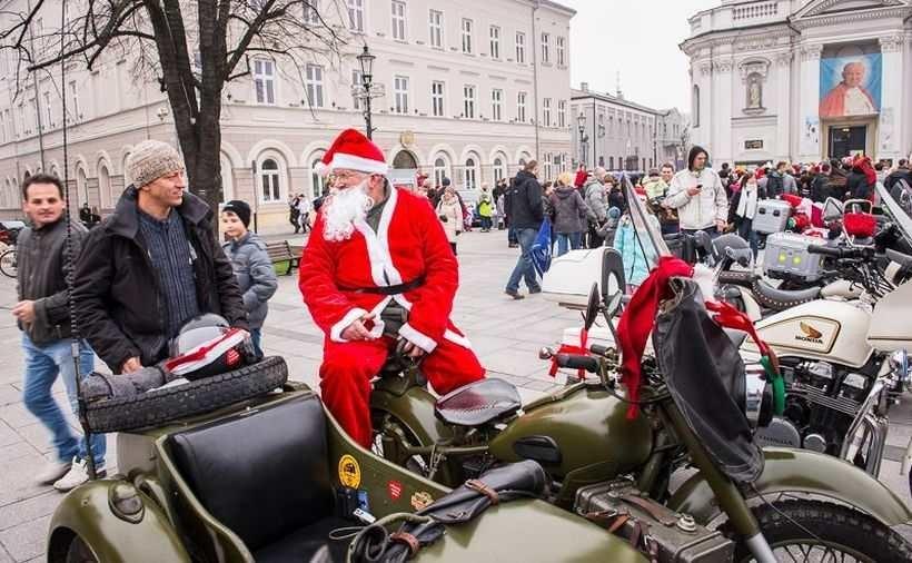 Mikołaje na motocyklach przejadą w paradzie