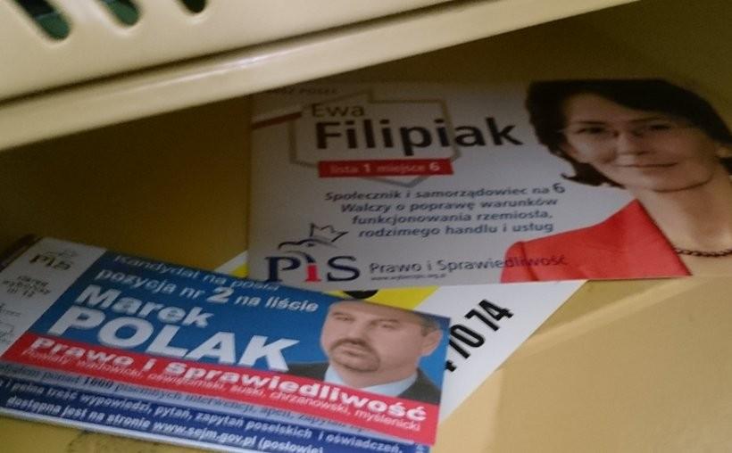 W piątek (27.11) w skrzynkach wadowiczan pojawiły się ulotki wyborcze
