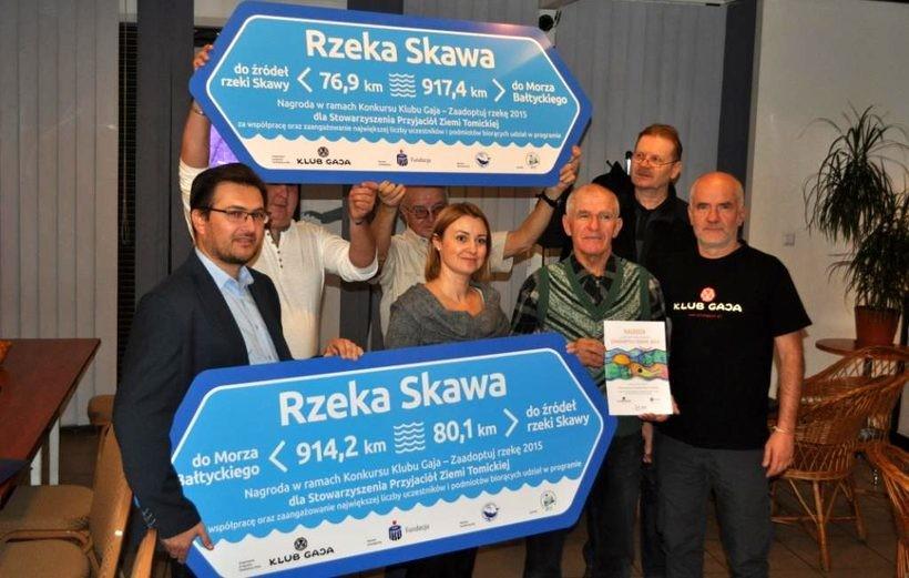 Znaki wodne zostaną ustawione przy mostach w Witanowicach i w Wadowicach