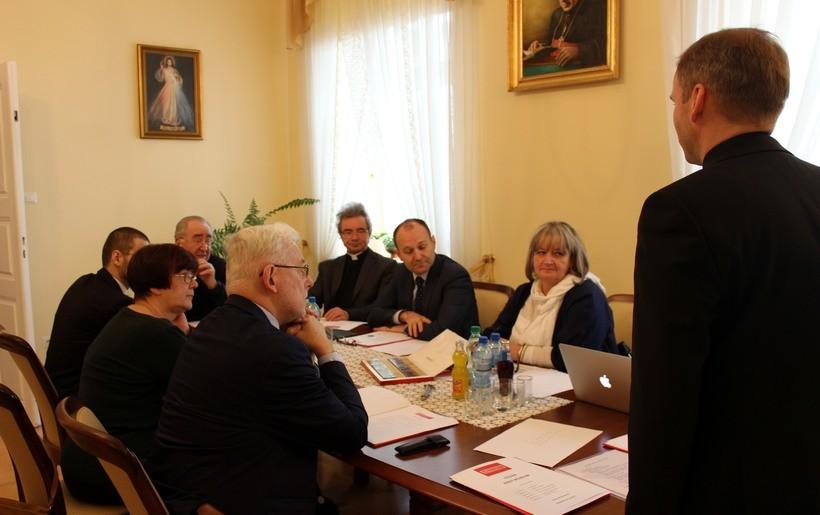 Rada Programowa muzeum obradowała w piątek na plebanii bazyliki