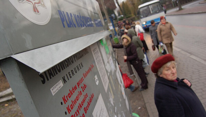 Od 1 marca przystanek na Kościuszki dostępy będzie tylko dla jednego przewoźnika