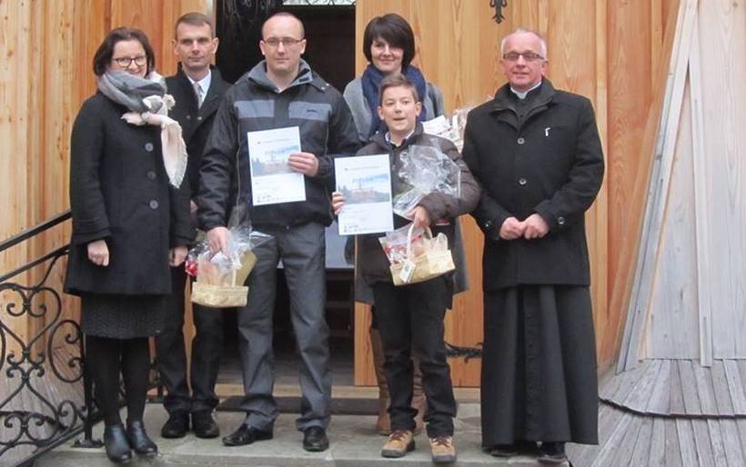 Nagrodzeni laureaci konkursu w Skawinach