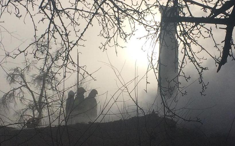Straszny pożar w Wieprzu. W ogniu zginął 75-letni mężczyzna