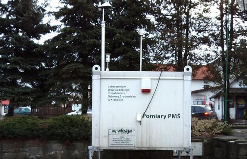Stacja pomiaru jakości powietrza