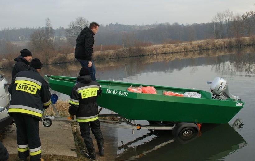 Łódź ma ratować powodzian