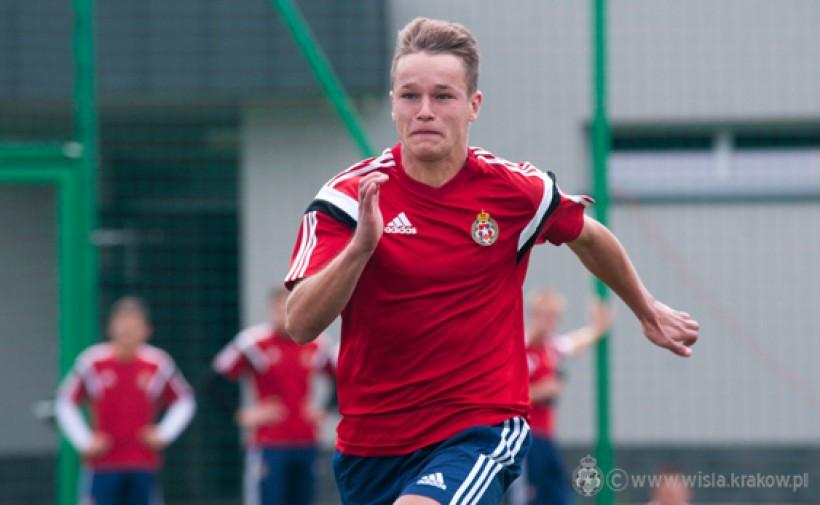 Konrad Handzlik będzie trenował na wiosnę w zespole juniorów Wisły, ale raczej nie będzie mógł liczyć na grę