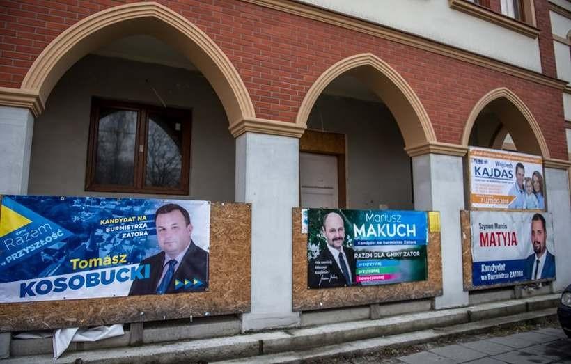 Makuch i Matyja w drugiej turze wyborów w Zatorze