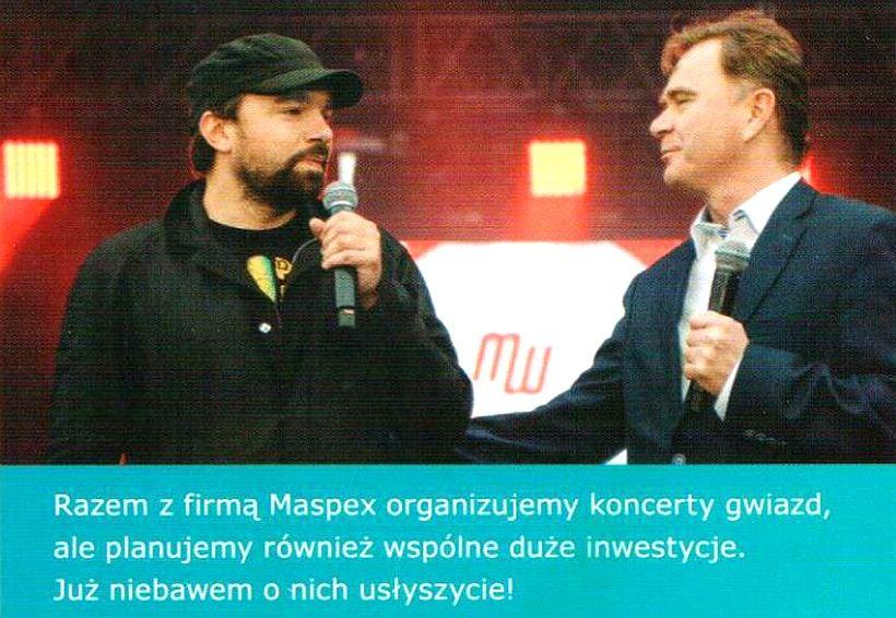 """Burmistrz Klinowski i Maspex planują """"wspólne duże inwestycje"""""""