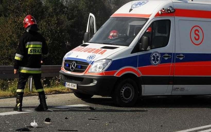 Wypadek w Andrychowie. 11-latek potrącony na przejściu dla pieszych trafił do szpitala