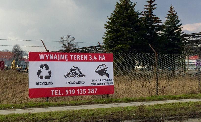 Obszar dawnego Bumaru w Wadowicach. Burmistrz i radni zdecydowali, że ma tutaj powstać przemysł. Chętni już są. Inwestor chce wybudować stację utylizacji opon
