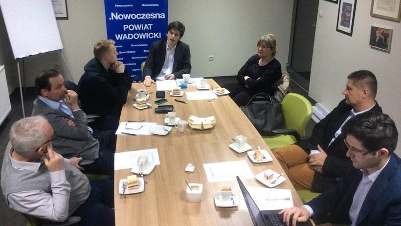 Spotkanie założycielskie Nowoczesnej w Wadowicach