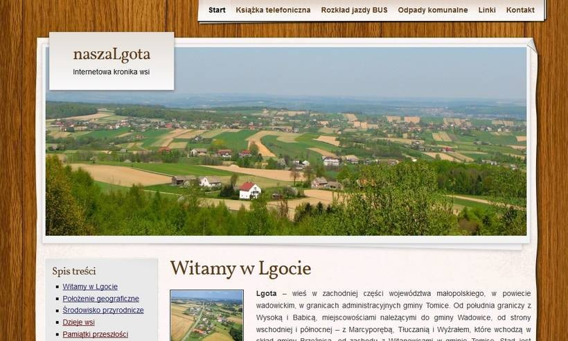 Nowa lokalna strona internetowa, która nas zaskoczyła... pozytywnie!