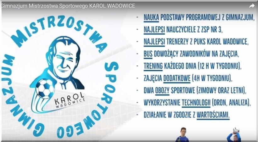 """PUKS Karol otwiera w Wadowicach nową szkołę. """"Ważne będą wartości katolickie"""""""