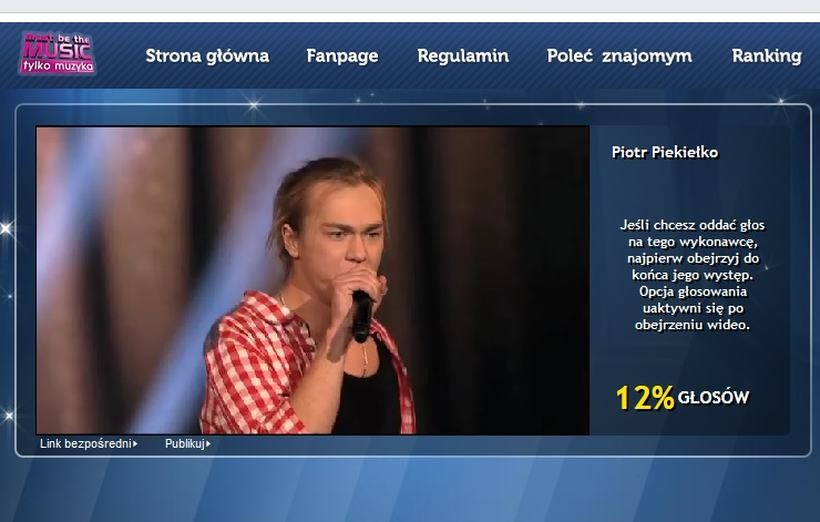 Piotr Piekiełko ma 20 lat i pokazał swój talent w programie muzycznym