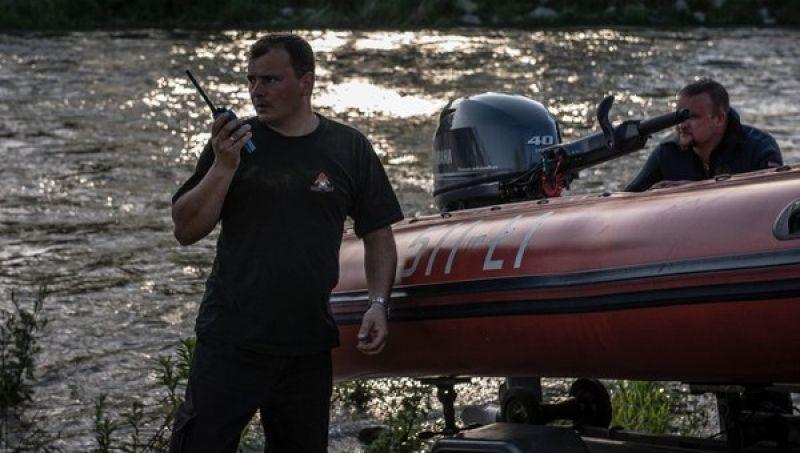 Strażacy kolejny raz w tym roku musili użyć specjalistycznego sprzętu do niesienia ratunku na wodzie