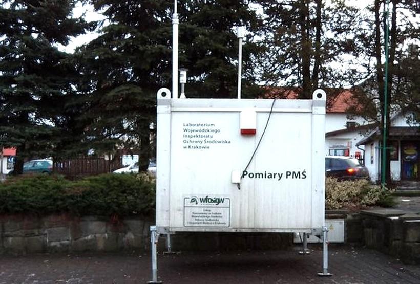 Mobilny rejestrator umieszczono na rynku w Kalwarii Zebrzydowskiej