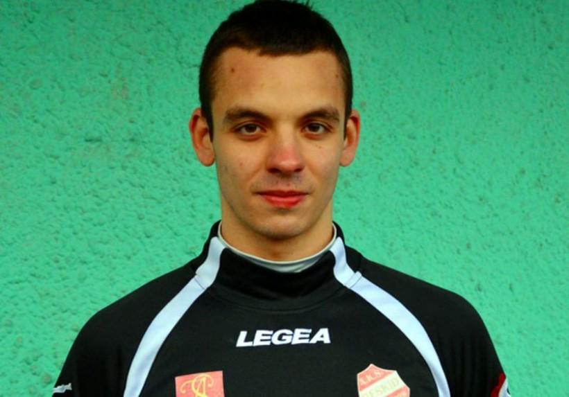 Honorową bramkę dla Beskidu strzelił niespełna 20-letni Adrian Młynarczyk