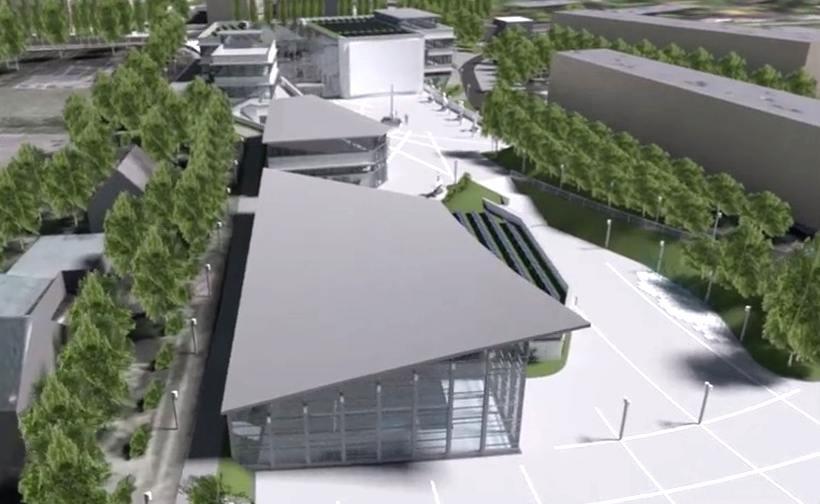 Na powierzchni sześciu i pół tysiąca metrów kwadratowych powstaną nowe siedziby Centrum Kultury z salą widowiskową i kinową, galerią wystawienniczą i salami warsztatowymi. To nie wszystko