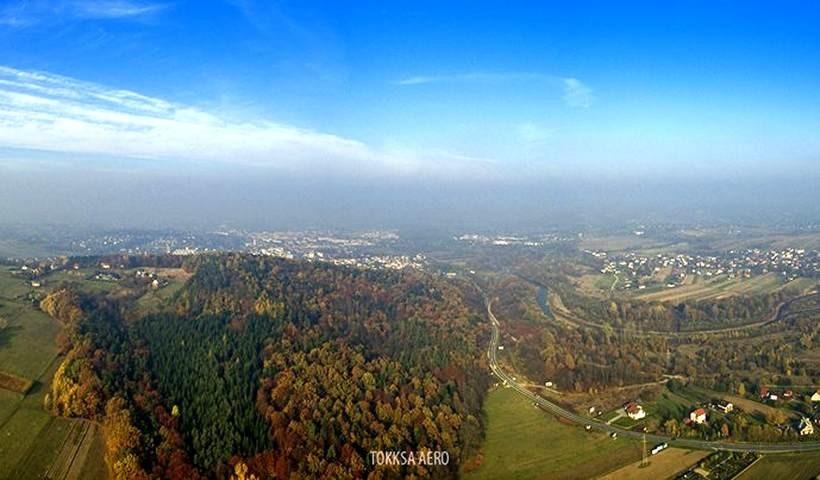 Smog nad Wadowicami