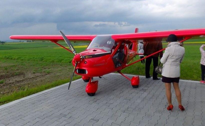 Niewielkie samoloty będą produkowane w równie niewielkiej wsi