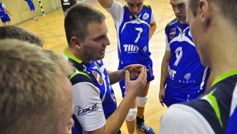 Łukasz Fijałek w przeszłości był grającym trenerem Skawy Wadowice. Foto z sezonu 2010/2011