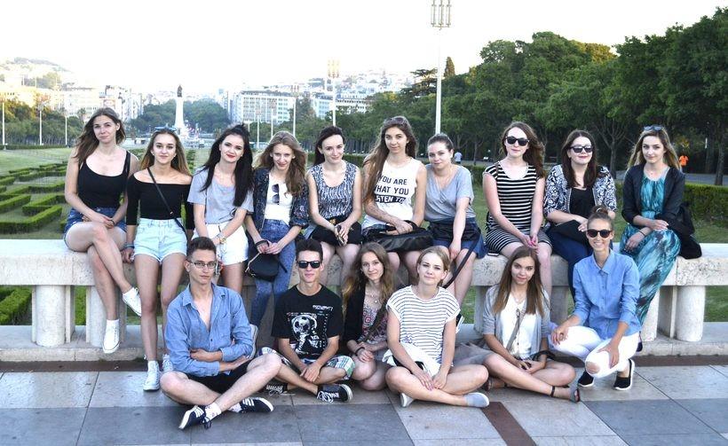 """Uczniowie ekonomika szkolą się Portugalii. """"Innowacyjna praktyka"""""""