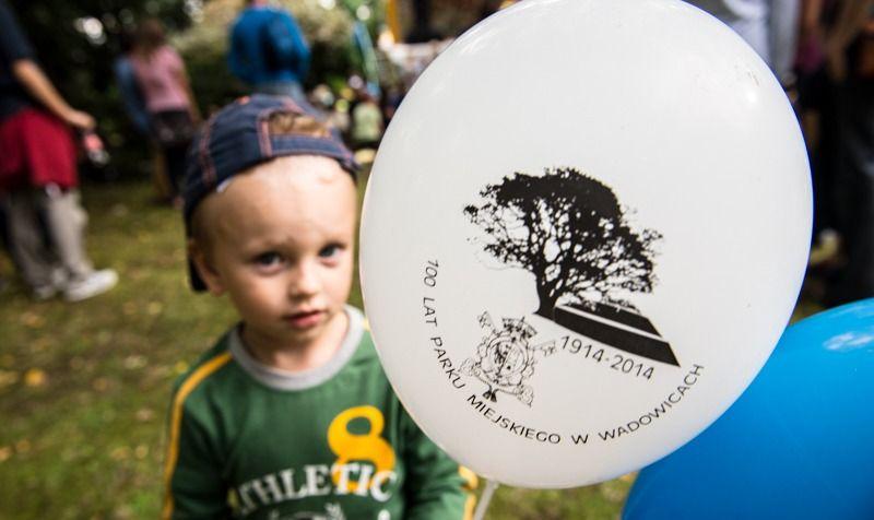 W miniony weekend Park Miejski obchodził swoje stulecie. Z tej okazji zorganizowano dzieciom szereg atrakcji