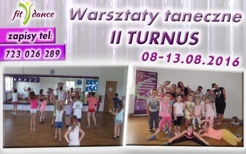 Warsztaty Taneczne 2016 z Fitdance! II TURNUS