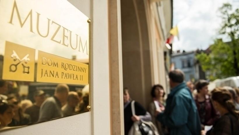 Od dziś zwiedzanie muzeum papieża w Wadowicach tylko dla pielgrzymów ŚDM