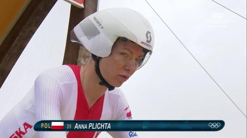 Anna Plichta podczas środowej jazdy indywidualnej na czas
