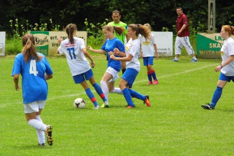 Dziewczyny z Witanowic pokazały w sparingach, że nie będą w 4. lidze dostarczycielkami punktów