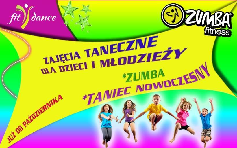 Zajęcia taneczne dla dzieci i młodzieży w Fitdance!