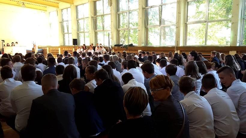 Rozpoczęcie roku szkolnego w Zespole Szkół Publicznych nr 2 w Wadowicach