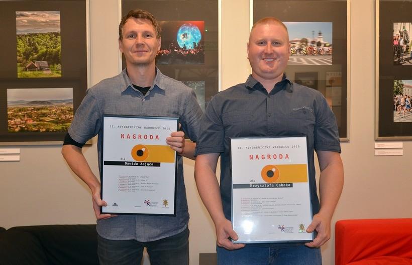 Dawid Zając i Krzysztof Cabak to bez wątpienia dwaj najwięksi zwycięzcy tegorocznej edycji konkursu na najlepsze zdjęcia z Wadowic