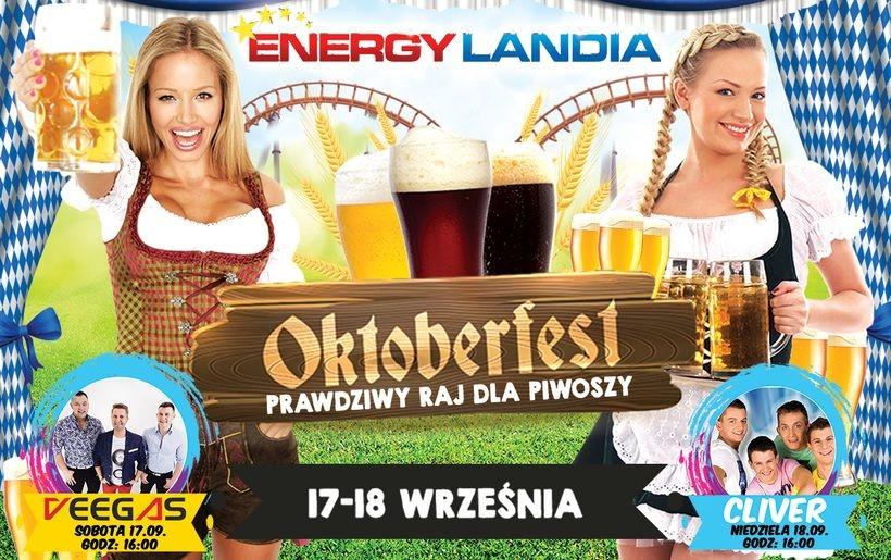 Oktoberfest w Energylandii. Oprócz piwa bardzo dużo atrakcji dla całych rodzin