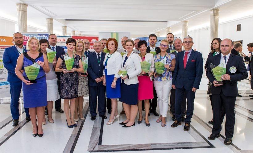 Nagrodę w imieniu Wadowic odebrała w Warszawie wiceburmistrz Ewa Całus