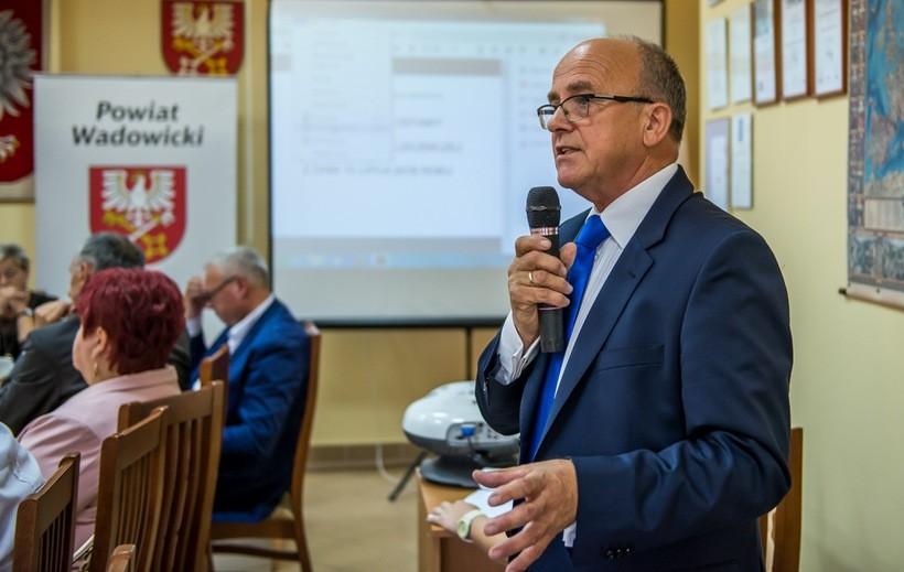 Dyrektor szpitala Józef Budka przedstawił radnym plan naprawczy